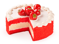 Торт-чизкейк Красный бархат