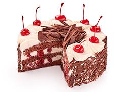 Торт Черный лес 1,5 кг
