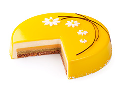 Торт Апельсин-абрикос
