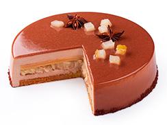 Торт Карамель-груша