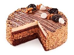 Торт Шоколад-чернослив 1,2 кг