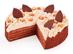 Торт Шоколадный медовик 1 кг
