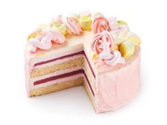 Торт Клубничный 1,5 кг